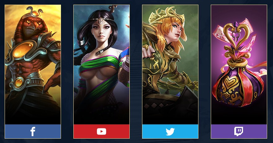 Receive Four Great Rewards In SMITE On Switch