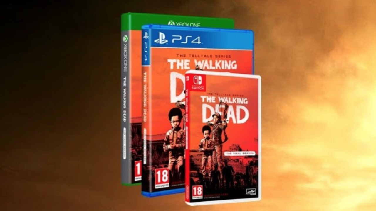 The Walking Dead: The Final Season Physical Release