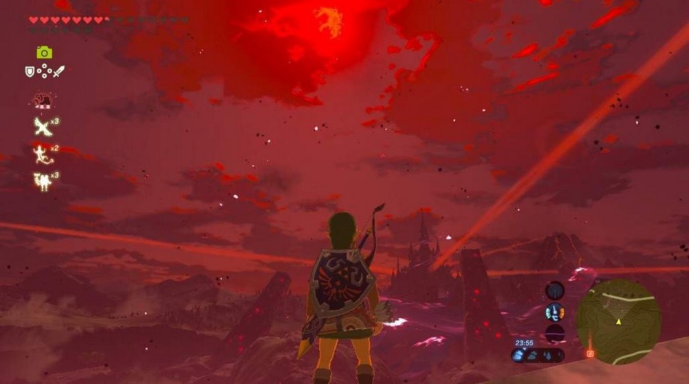 red moon cycle botw - photo #7