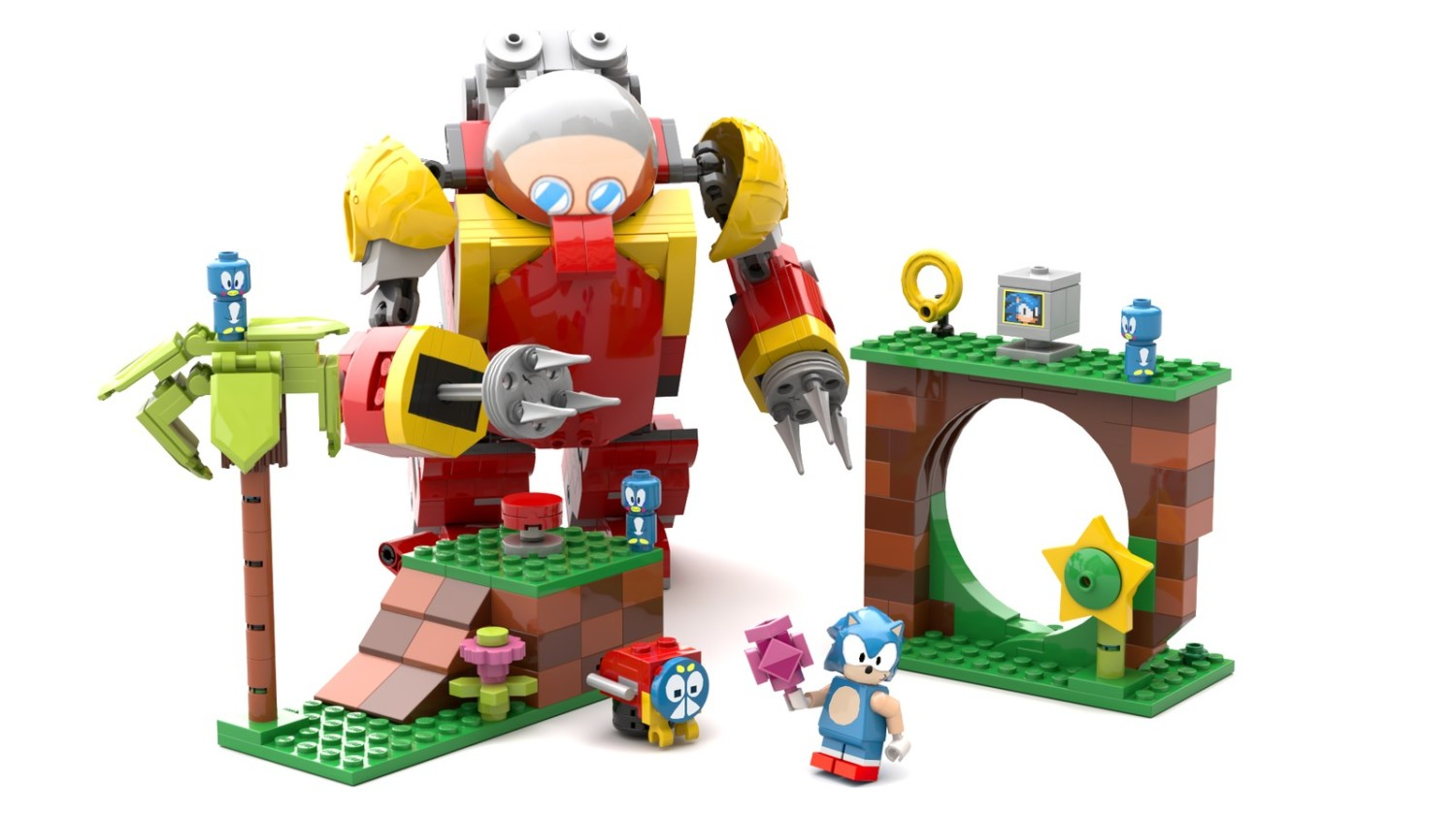this lego sonic mania set could become a reality  if it