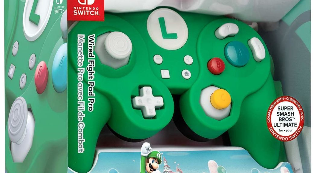 detailed images half off vast selection Official Luigi And Peach Themed Gamecube Controllers Are Now ...
