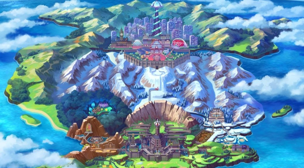 Here S An In Depth Look At Pokemon Sword And Shield S Galar Region
