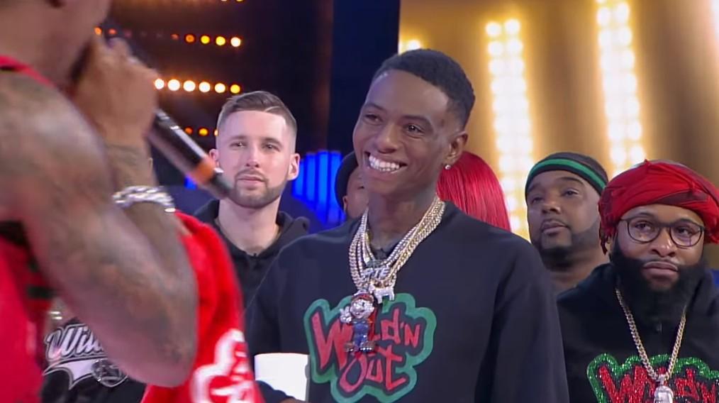 Soulja Boy Seen On TV Wearing An Iced Super Mario Jewel Necklace