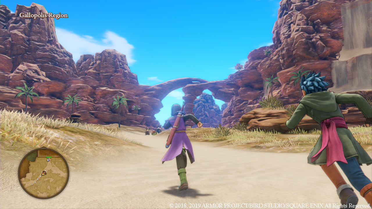 Square Enix Explains How Dragon Quest XI S's File Size Was Reduced From 30GB To 13.5GB
