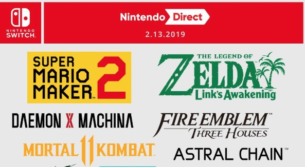 Infographic: All The Nintendo Switch Games Announced During Last Week's Direct