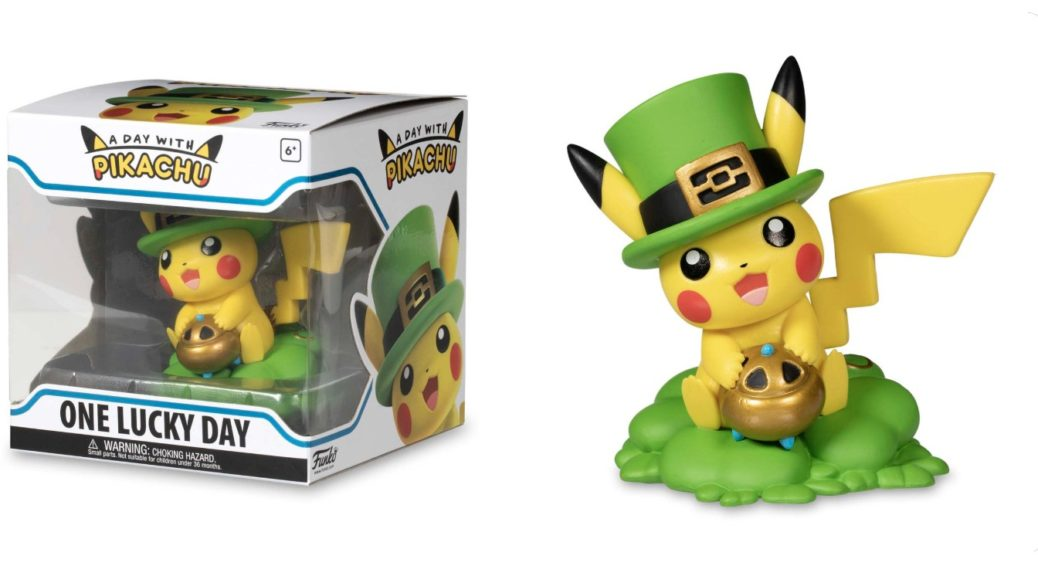 1703f765 Funko's A Day with Pikachu: One Lucky Day Figure Up For Pre-Order |  NintendoSoup