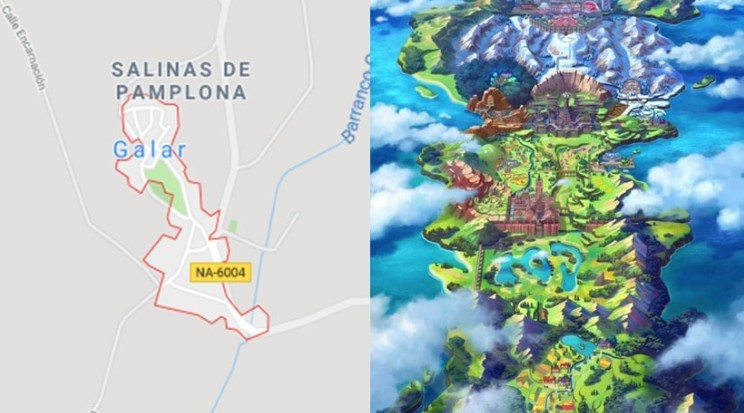 Pokemon Sword And Shield S Galar Region Exists As A Village In Spain