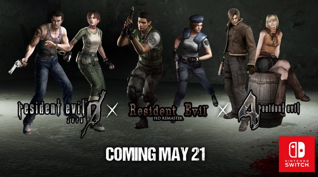 Resident Evil 0, 1, And 4 Lands May 21 On Switch | NintendoSoup