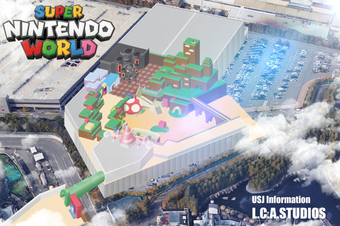 This Is How Super Nintendo World Will Probably Look Like At Universal Studios Japan