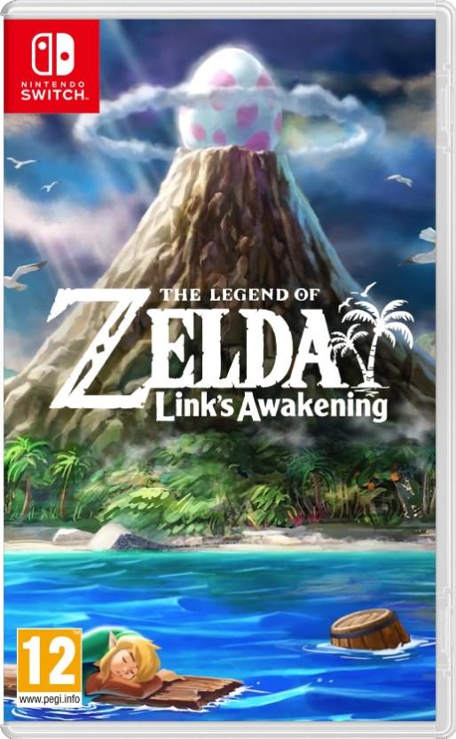 First Look At The Legend Of Zelda Link S Awakening Boxart