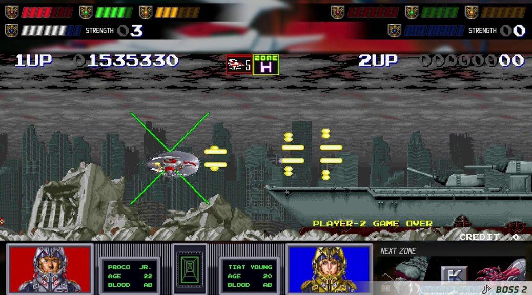 Video Darius Cozmic Collection Gameplay Nintendosoup
