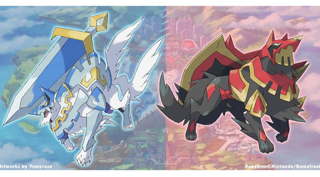 Fan Art Possible Designs For Pokemon Sword And Shield Version