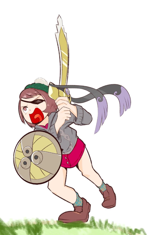Random Fans Imagine Pokemon Sword Shield Female Trainer As
