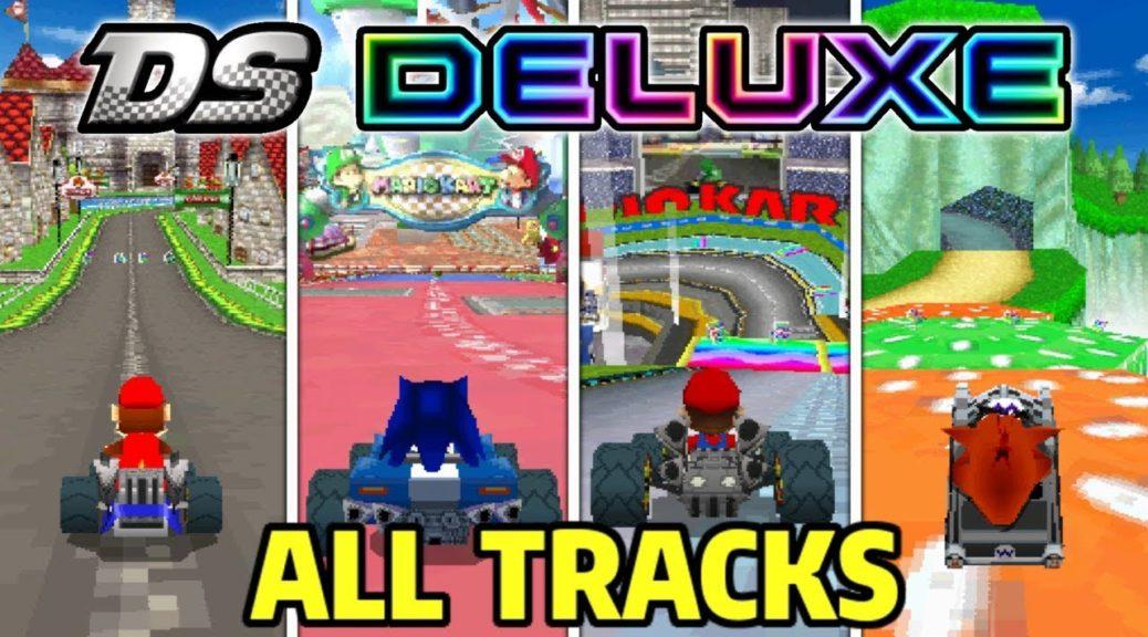 Fan Mod Adds Custom Characters Mario Kart 7 8 Race