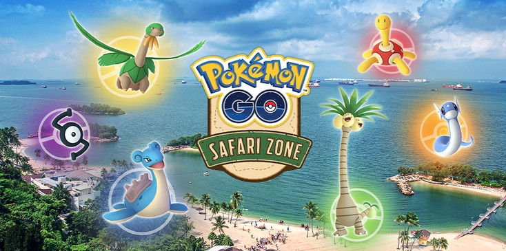 Pokemon GO Safari Zone Sentosa Announced In Singapore | NintendoSoup