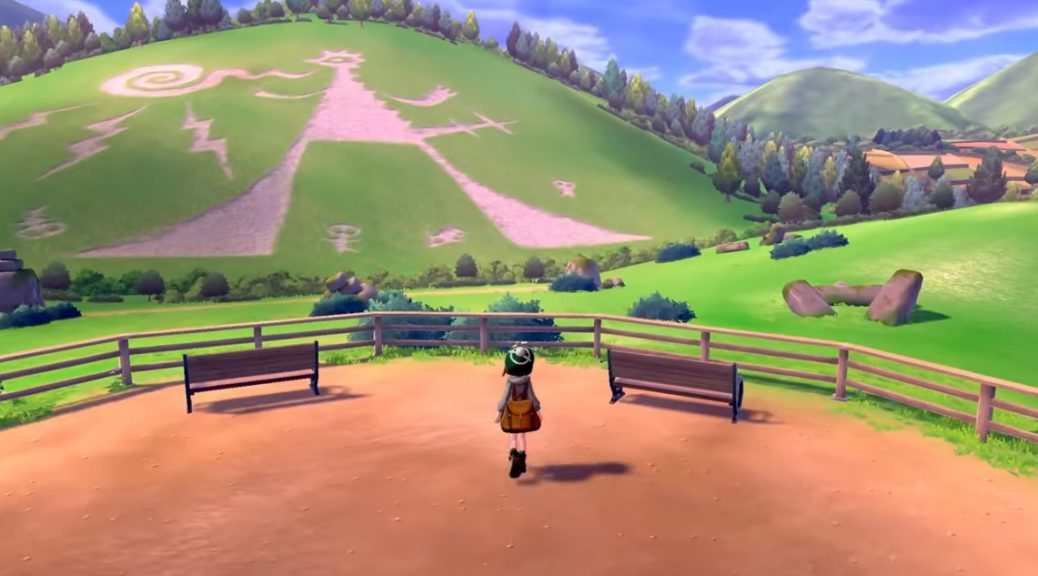 Image result for pokemon sword and shield map