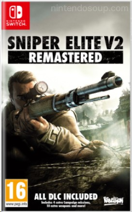 Sniper Elite V2 Remastered Switch Boxart Revealed, All DLC Included