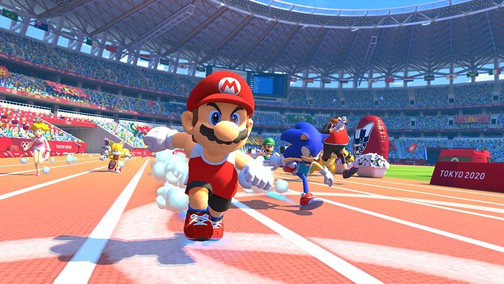mario sonic at the tokyo 2020 olympic games confirmed. Black Bedroom Furniture Sets. Home Design Ideas