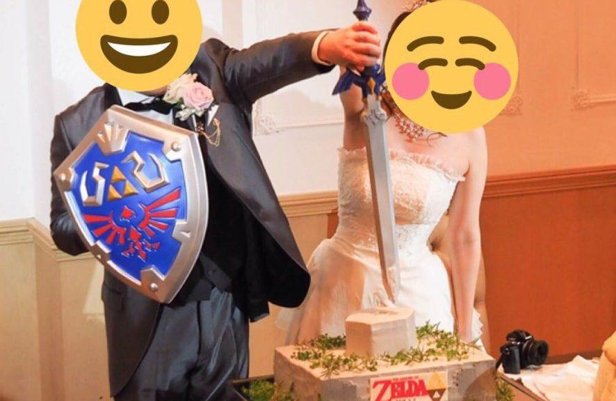 Look At This Epic The Legend Of Zelda Wedding Cake Nintendosoup
