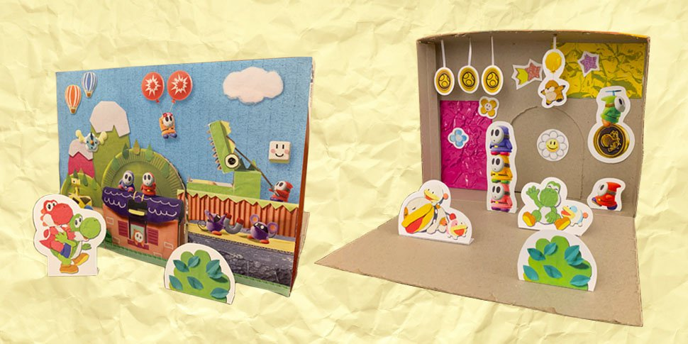Make Your Own Diorama: You Can Now Print And Create Your Own Yoshi's Crafted