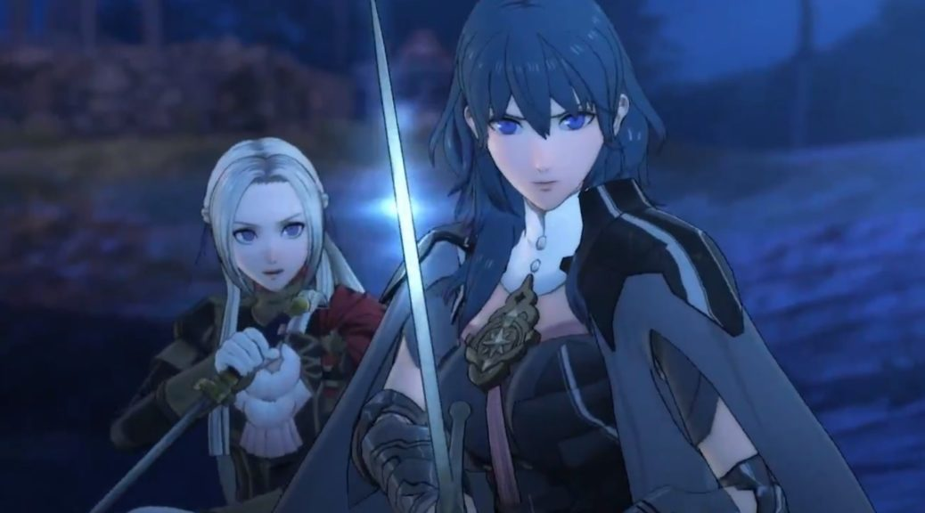 Image result for fire emblem three houses Edelgard cutscene