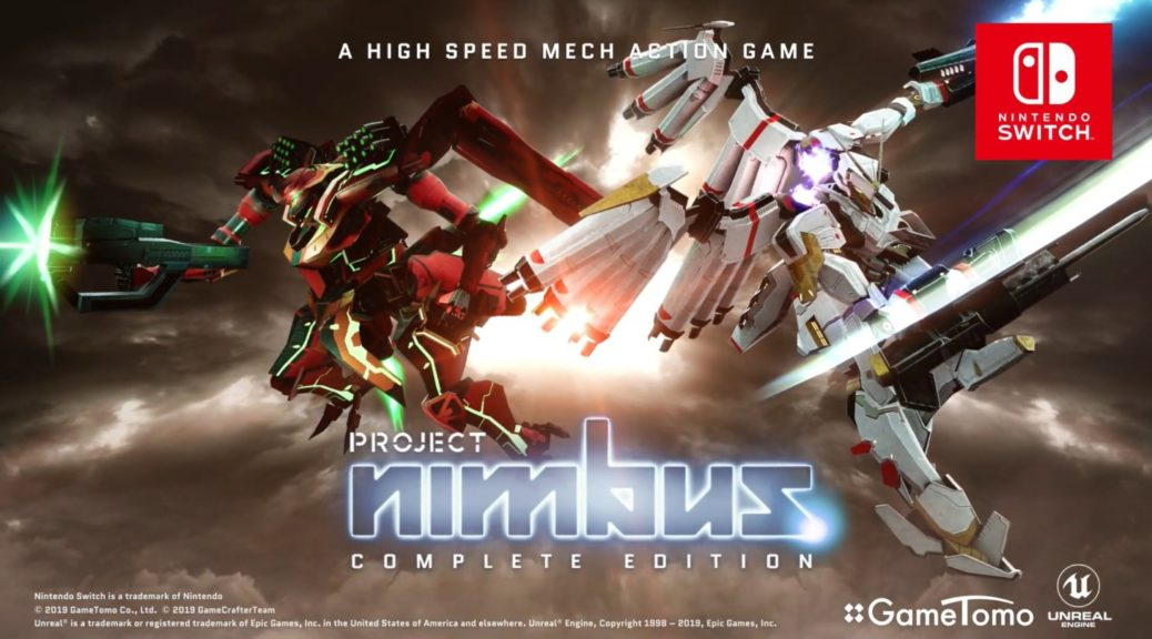 Mech Action Game Project Nimbus: Complete Edition Hitting The Switch