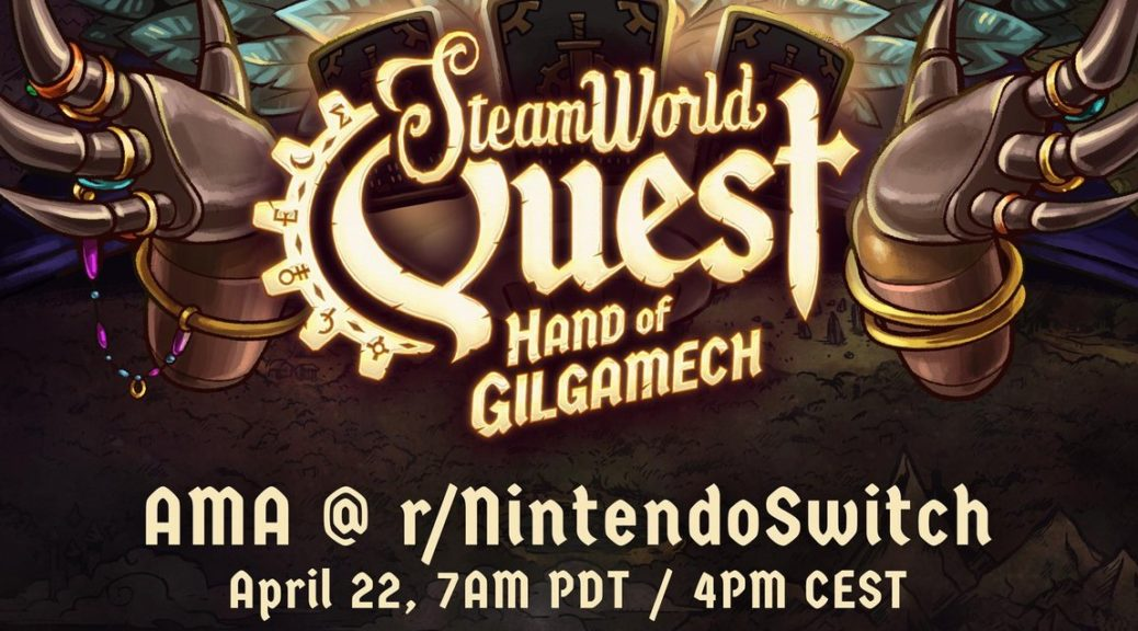 Image & Form Is Holding A SteamWorld Quest: Hand Of