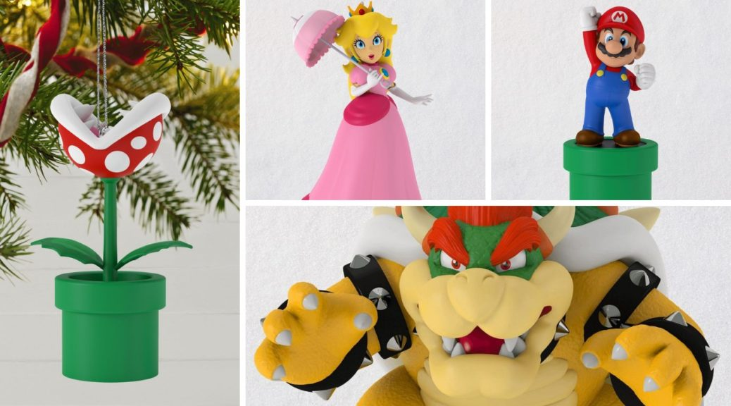 Hallmark Christmas Ornaments 2019.Hallmark Reveals Super Mario Series Of Holiday Ornaments