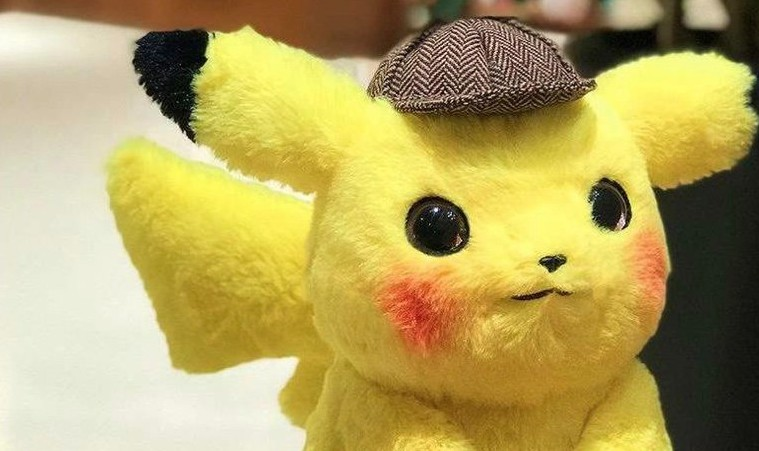 This Detective Pikachu Plush Looks The Closest To The Graphics In Pokemon Detective Pikachu