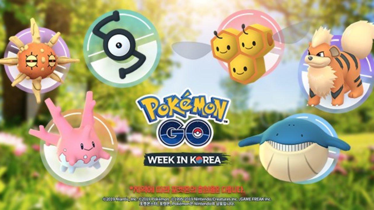 First Details For Pokemon GO Week In Korea Announced