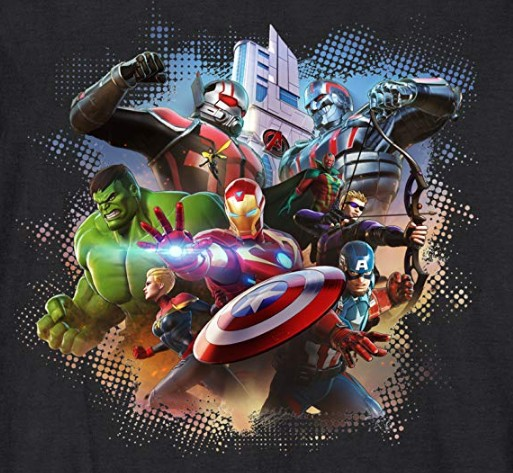 Official Marvel Ultimate Alliance 3 T Shirts Reveal Ant Man