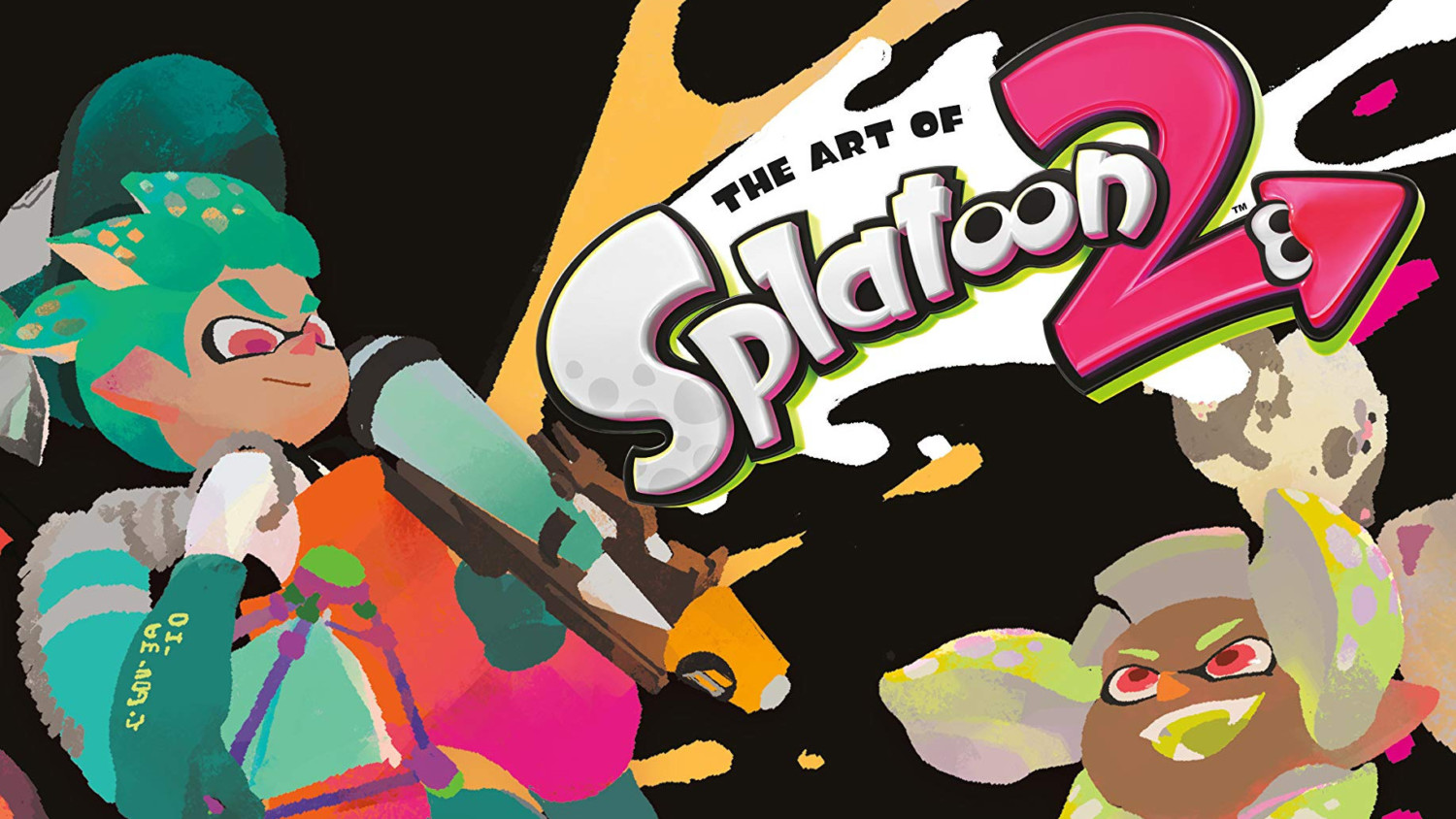 The Art Of Splatoon 2 Now Available In English