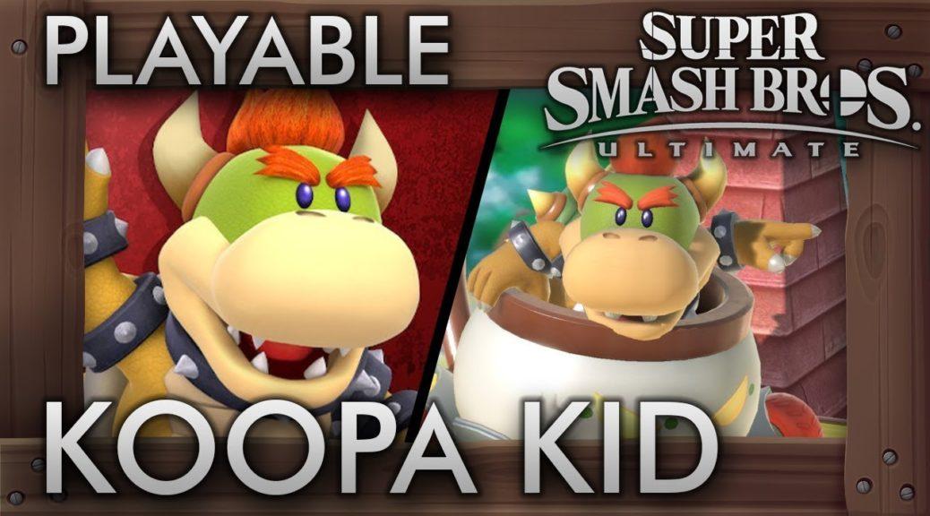 Fan Mod Adds Koopa Kid As Playable Fighter In Smash Ultimate