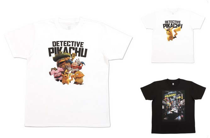 da7e9f01 Three Pokemon Detective Pikachu T-Shirts Out At Graniph | NintendoSoup