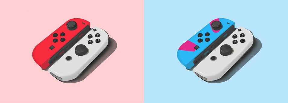 Fan Art: Poke Ball Joy-Con For Nintendo Switch