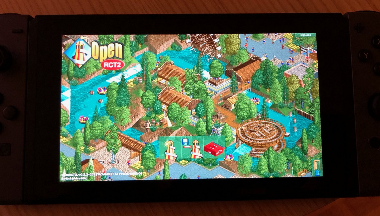 RollerCoaster Tycoon 2 Successfully Ported To Nintendo Switch