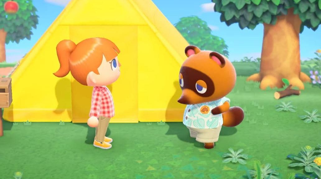 animal crossing new horizons tents