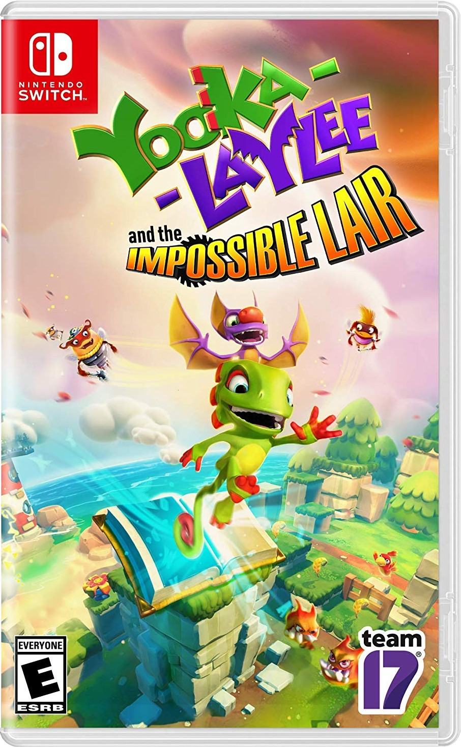 Yooka-Laylee And The Impossible Lair Physical Cover Art