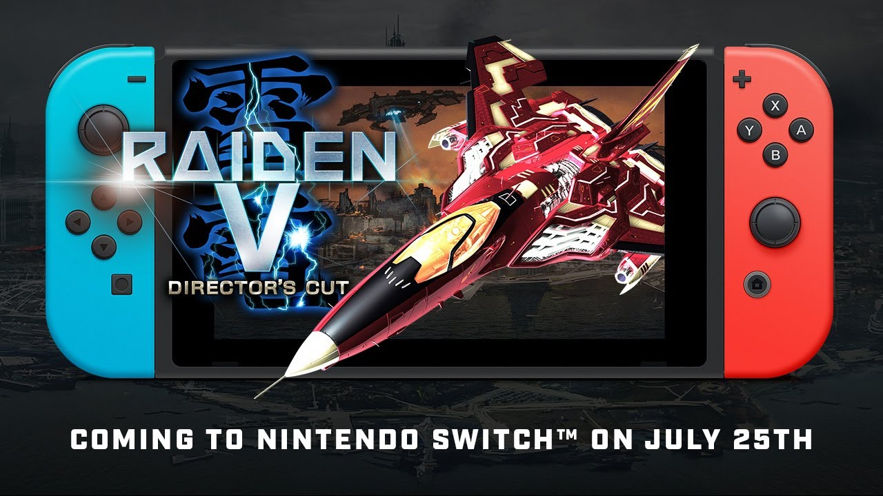Here's The Japanese Debut Trailer For The Arcade Hit Raiden V: Director's Cut