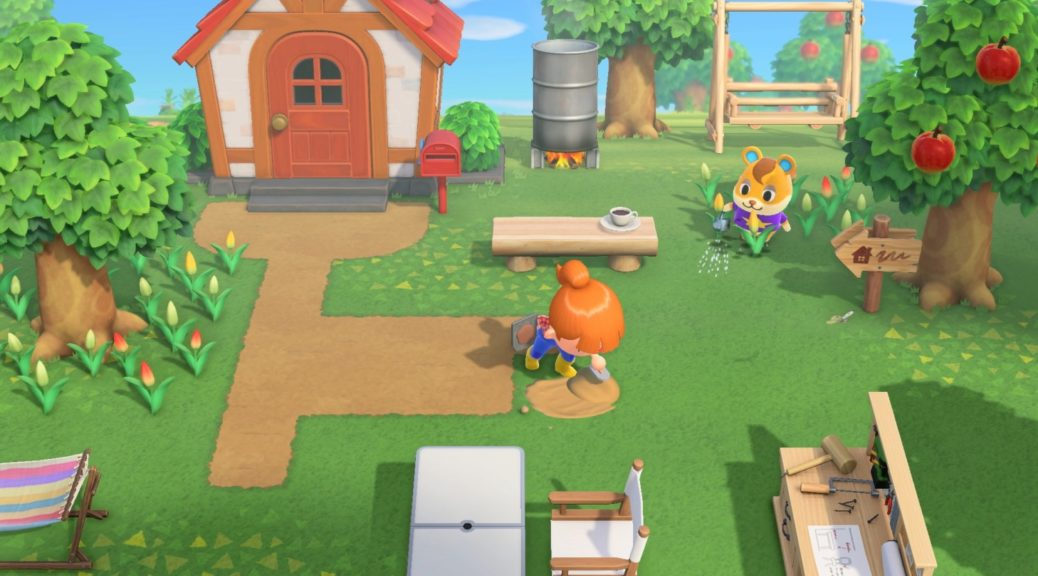 First Screenshots For Animal Crossing New Horizons