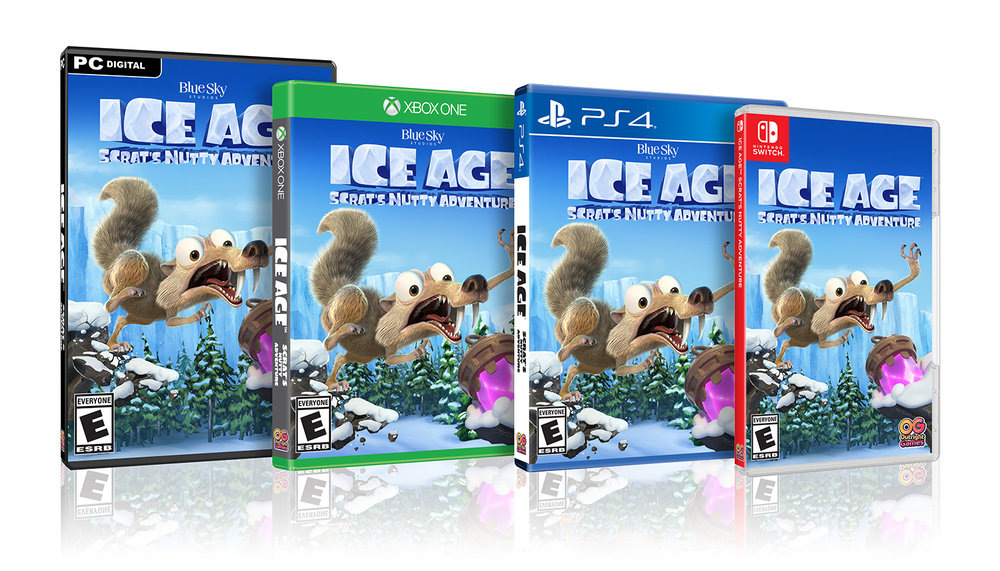 Ice Age: Scrat's Nutty Adventure Launches For Switch In