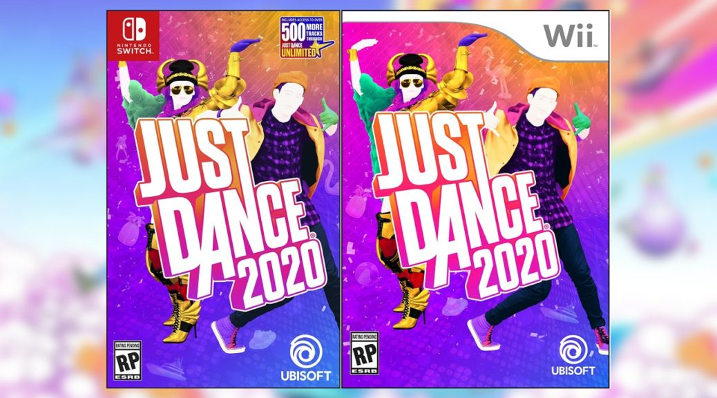 Just Dance 2020 Switch And Wii Covers Revealed | NintendoSoup