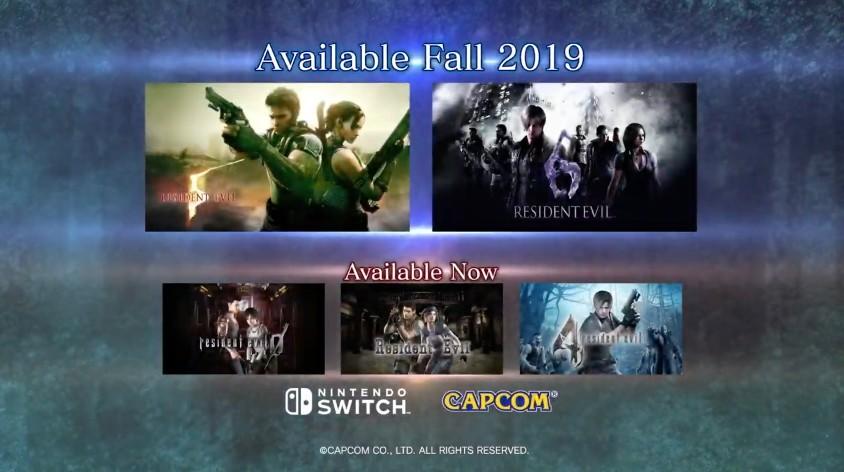Video: Resident Evil 5 And Resident Evil 6 Running On Switch