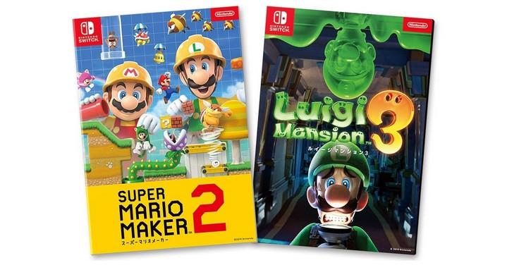 Luigi S Mansion 3 Super Mario Maker 2 And Tetris 99