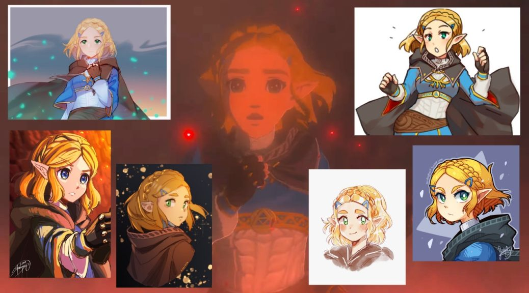 Fan Art Of Zelda With Short Hair Gets Popular After Breath