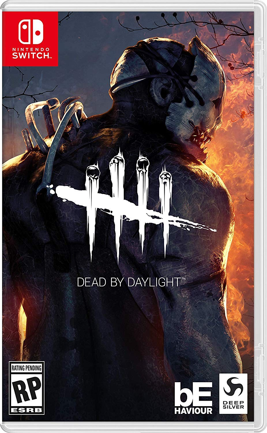 Dead By Daylight For Switch Cover Art Revealed | NintendoSoup