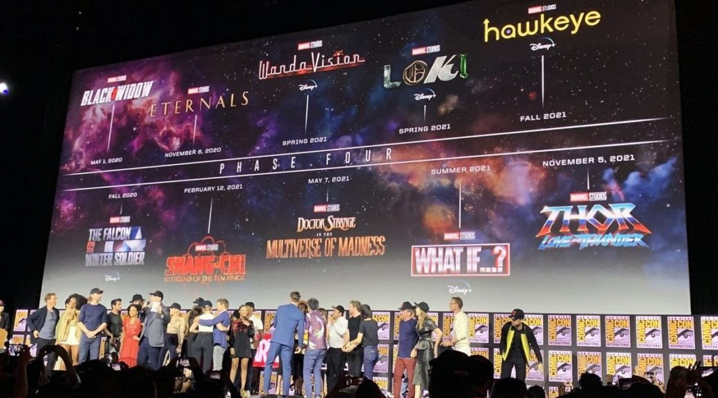 Fall Lineup 2020.Marvel Studios Unveils Official Mcu Phase 4 Lineup For 2020