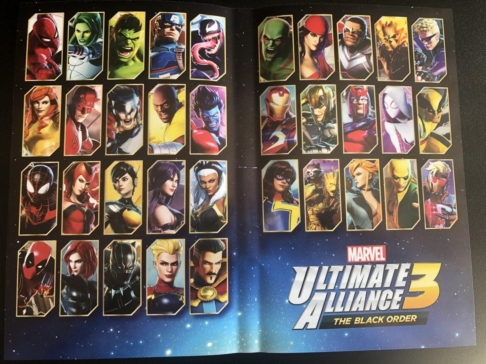 Rumor Marvel Ultimate Alliance 3 Has 2 Unannounced Playable