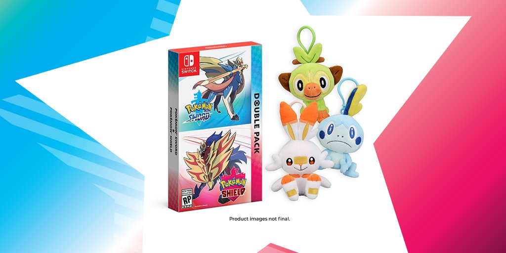 Sword Shield Double Pack Pokemon Center Us Pre Orders Come With