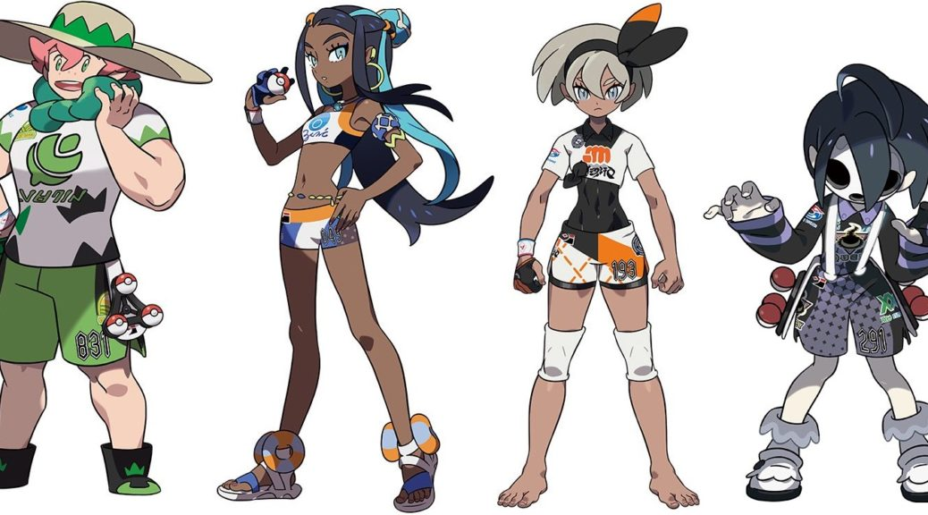 Here S What The Numbers On Pokemon Sword Shield Gym Leaders